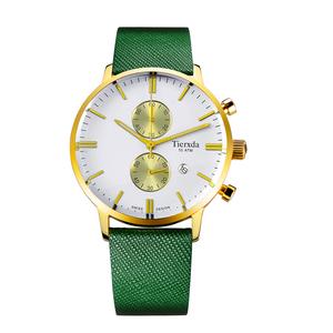 帝达时(Tierxda)手表石英表 防水夜光男士手表多功能计时运动男表6064G