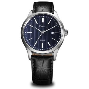帝达时(Tierxda)手表 休闲时尚情侣手表日历皮带情侣表6072GL