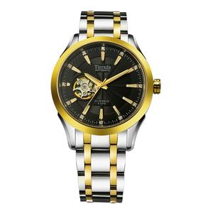 帝达时(Tierxda)手表全自动机械表名仕系列男表 镂空蓝宝石玻璃男士商务休闲9005G