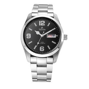 帝达时(Tierxda)手表全自动机械表男表 防水夜光双日历时尚男士手表6060G