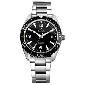 帝达时(Tierxda)手表全自动机械表名仕系列情侣手表 日历商务休闲情侣对表6078GL