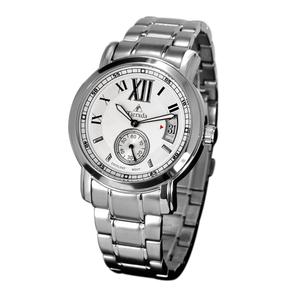 帝达时(Tierxda)手表 休闲时尚情侣手表一对 日历钢带情侣表8001GL-2
