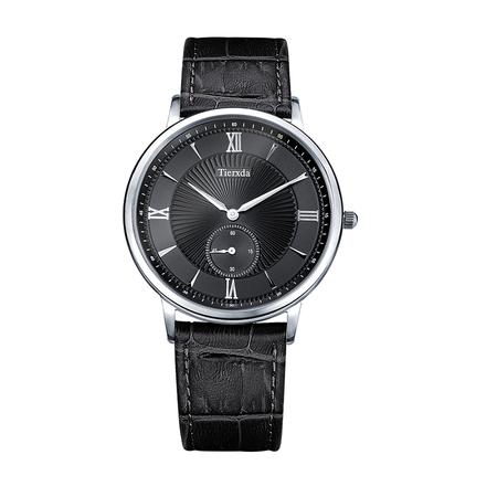 帝达时(Tierxda)男士手表 商务休闲男表蓝宝石玻璃英表 薄装手表6073G