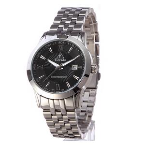 帝达时(Tierxda)手表 休闲时尚情侣手表一对 日历钢带情侣表8002GL
